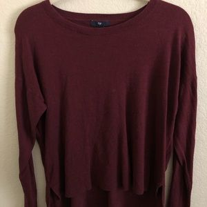 Gap High-Low Sweater